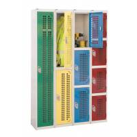 Industrial Perforated Door Lockers